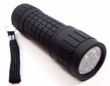 9 LED Black Soft Grip Torch Flashlight Camping Lighting Lamp Tools 81339C