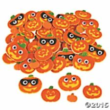 Pumpkin Felt Shapes some with Wiggly Eyes  (100)