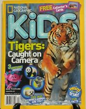 National Geographic Kids Dec 2016 Jan 2017 Tigers Caught on Camera FREE SHIPPING