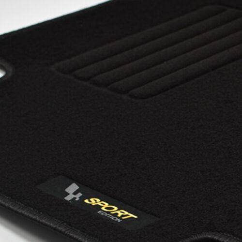 Mattenprofis Velours Logo Fußmatten für Renault Megane 2 II ab Bj.11//2002-2008
