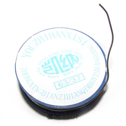 Bobine d'étain à souder 63/37 Rosin, 0,8mm x 1,7m. DIY, Arduino, Pi