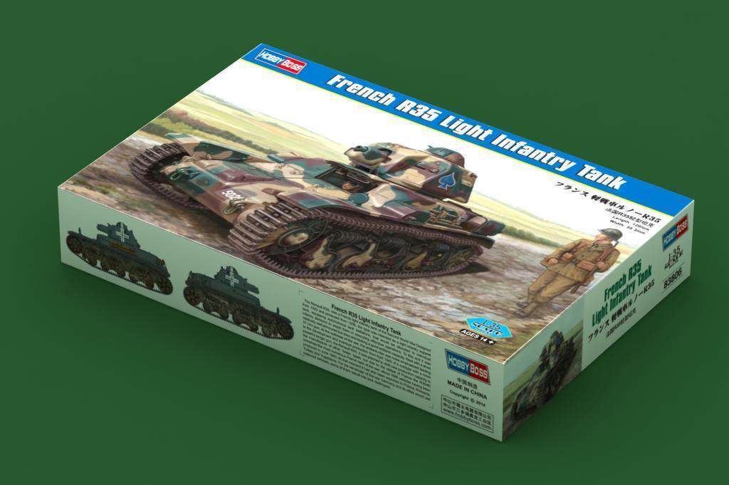Hobby Boss 1 35 French R35 Light Infantry Tank