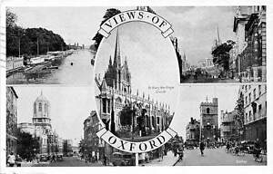 Views-of-Oxford-different-aspects-High-Street-St-Mary-the-Virgin-Church-1957
