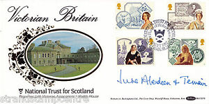 1987 Victorian Britain - Benham BLCS Off - Edinburgh H/S - Signed by J ABERDEEN