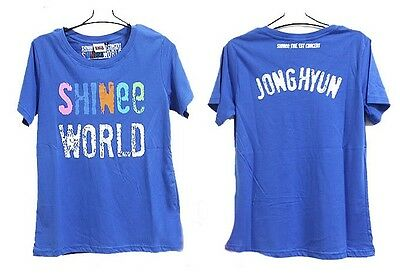SHINEE ONEW/TAEMIN/KEY/JONGHYUN/MINHO KPOP SEOUL LIVE T-SHIRT NEW Free shipping