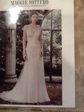 Maggie Sottero Wedding Dress -  Sundance - Size 14 - Ivory/ Pewter