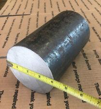 4 In Dia Round 6 Long Steel Shaft Blacksmithing Stock Lathe Machining Hr 1045