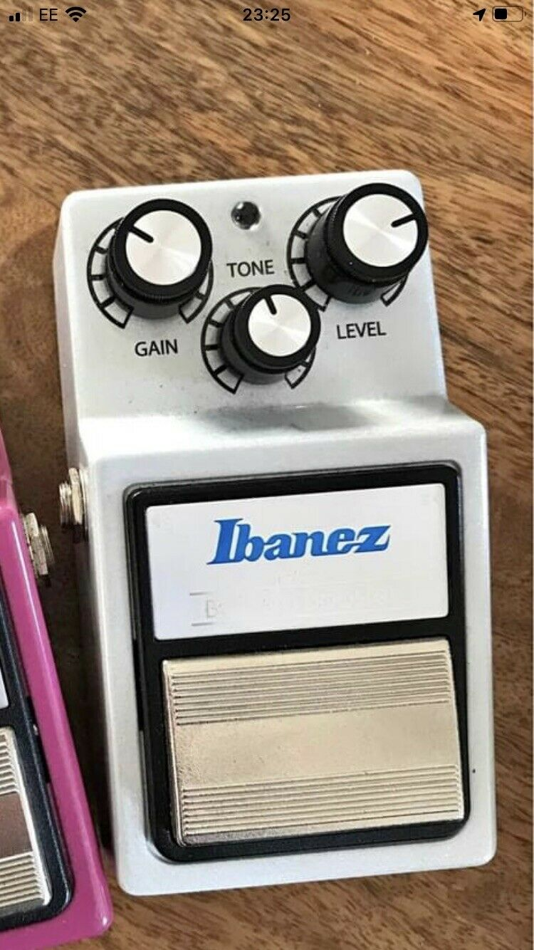 Ibanez Bottom Booster Distortion BB9 Guitar Effects FX Pedal