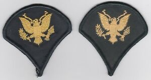GENUINE-SPECIALIST-US-ARMY-CHEVRONS-RANK-PATCH-LOT-VIETNAM-MILITARY