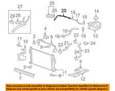 s l225 gm oem radiator bypass pipe 12637183 ebay