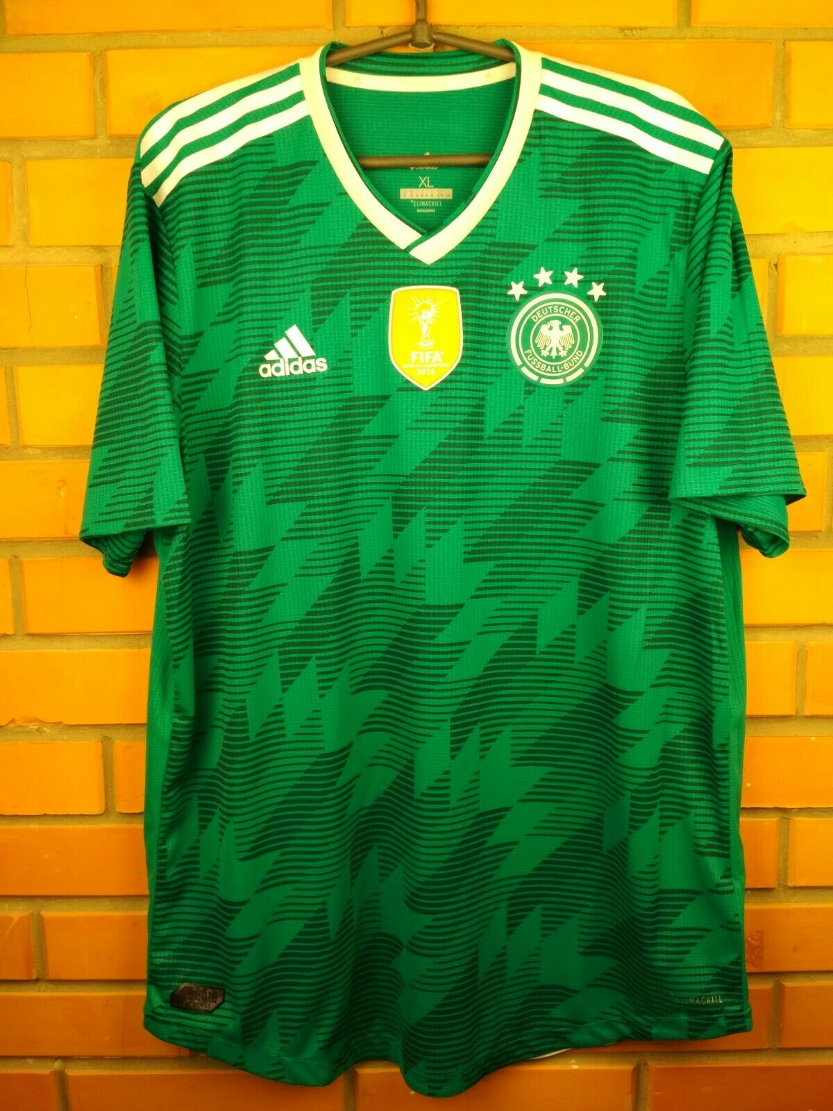 Germany authentic soccer jersey XL 2018 shirt BR3143 soccer football Adidas