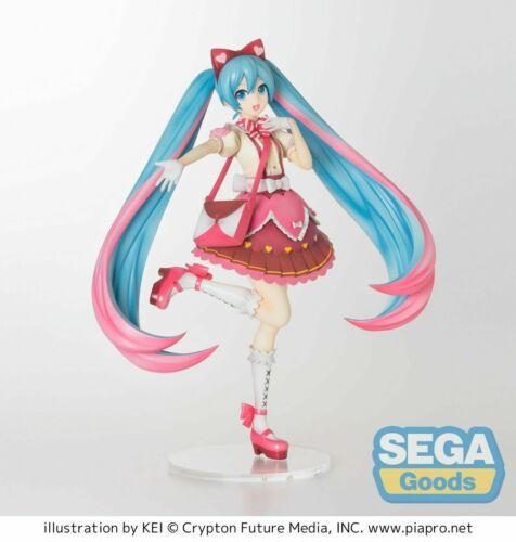 Project DIVA Arcade Future Hatsune Miku Ribbon Heart SPM Premium Figure SEGA