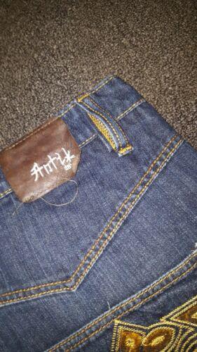 bleu Denim coton Jeans en d clair Antik TOSxwqZT