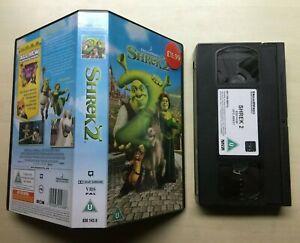 Shrek 2 Dreamworks Vhs Video Ebay