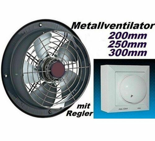 400mm  Axial Industrie-Großraum-Ventilator-Lüfter Abluft Abzug Fensterventilator
