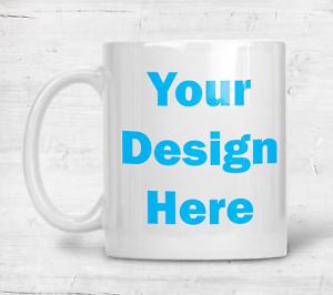Personalized Mug White Ceramic 11oz Photo Gift Custom Coffee/Tea Cup Picture