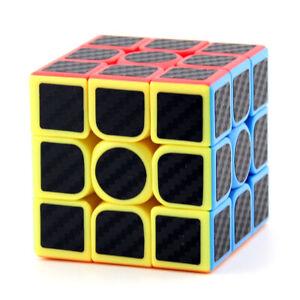 Zauberwuerfel-3x3carbon-MoYu-Meilong-stickerless-Original-speedcube-magic-cube