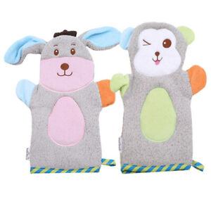 Baby-Cute-Cartoon-Shower-Bathroom-Super-Soft-Children-Animal-Model-Gloves-Towel