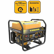 Firman P03605 4550 | 3650 Watt 120/240 V Gas Recoil Start Generator, cETL, CARB