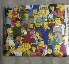 The Simpsons Mighty Wallet Bill Fold Tyvek Paper Wallet Lootcrate Exclusive NEW!