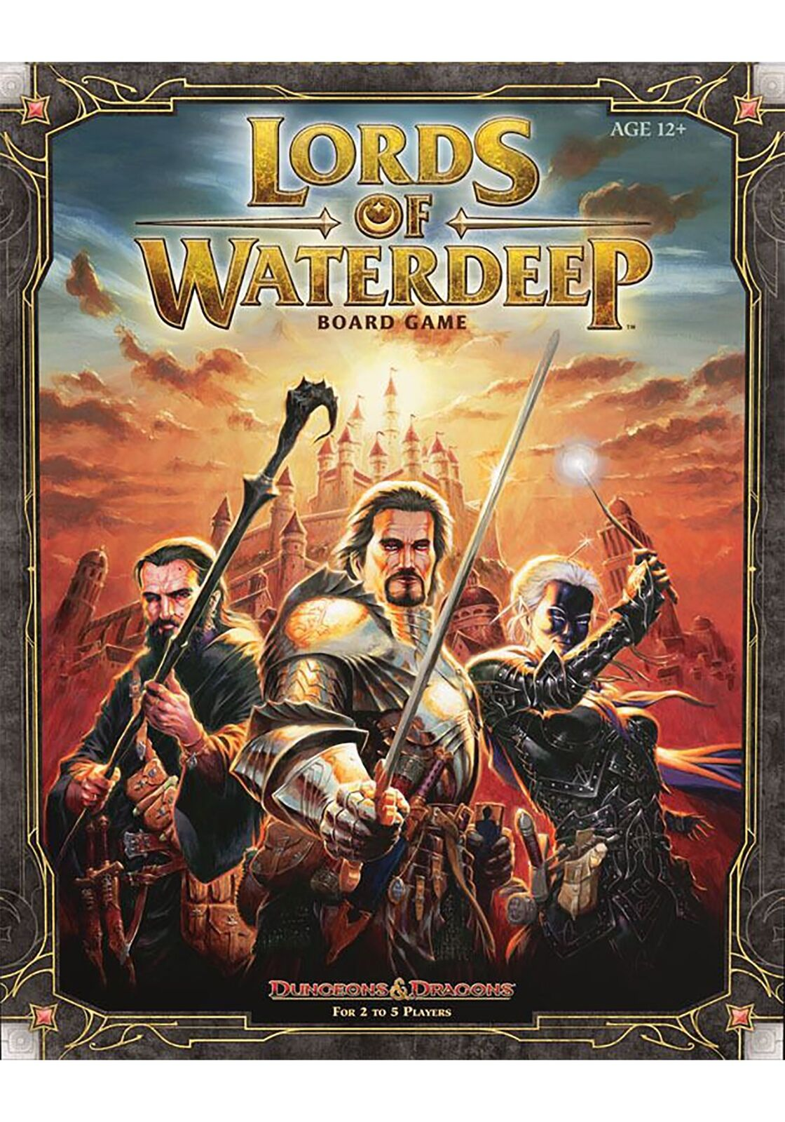 Dungeons Dungeons Dungeons e Dragons  Lords of Waterdeep tavola gioco 4f6428