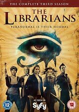 THE LIBRARIANS Stagione 3 Serie Completa BOX 3 DVD in Inglese NEW .cp