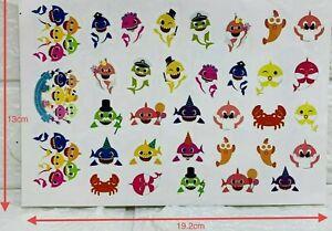 BABY-SHARK-TEMPORARY-TATTOOS-BODY-ART-BIRTHDAY-PARTY-LOLLY-LOOT-BAG-STICKER