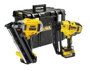 DEWALT DCK264P2 18V Nailer Twin Pack Kit (2 Piece)