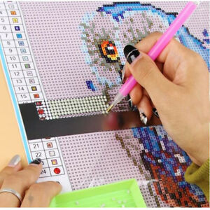 5D-Diamond-Painting-Ruler-Stainless-Steel-Blank-Grids-Round-Full-Drill-Kit-Tool