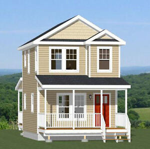 16x20 tiny house 586 sq ft pdf floorplan model 9b for 16x20 house plans