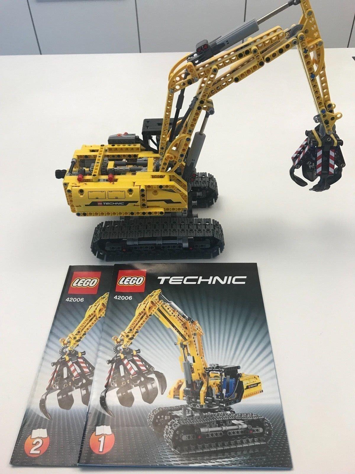 LEGO Technic (42006) Raupenbagger 10-16 Jahre top inkl. Bauanleitung