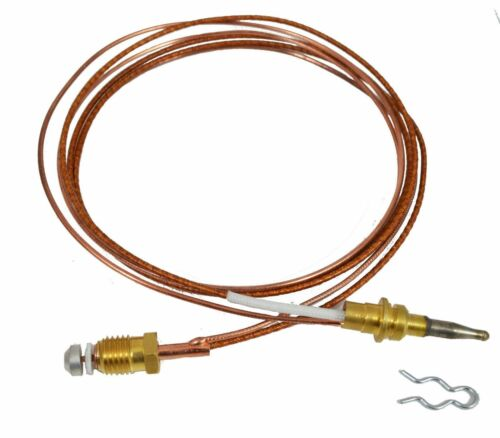 "110186-01 Thermocouple 33 /"" Dual Wire Clip Mounted Desa Vanguard Comfort glow"