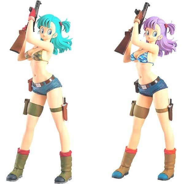 New model Banpresto Dragon ball GLITTER & GLAMOURS BULMA Bloomers All 4sets