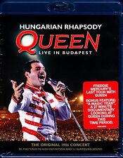 QUEEN HUNGARIAN RHAPSODY LIVE IN BUDAPEST BLU RAY FREDDIE MERCURY