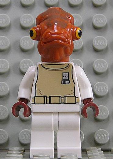 LEGO Star Wars - Admiral Ackbar aus Set 7754 / 75003 / sw247 NEUWARE (ak10)
