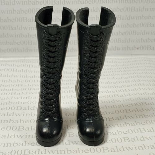 WWE ~ CHARLOTTE FLAIR CALF BOOTS SUPERSTARS DIVAS WRESTLERS DOLL ACCESSORY SHOES