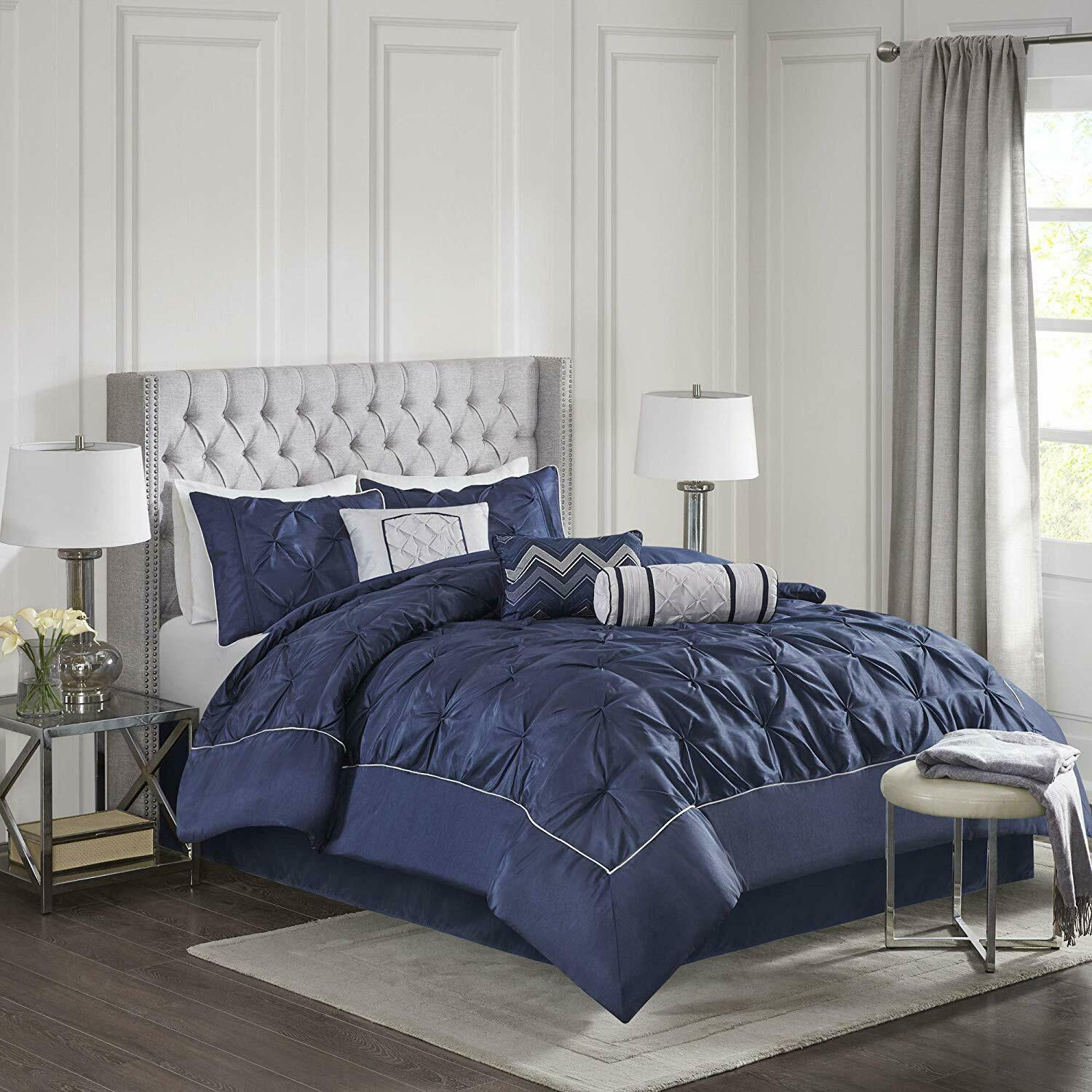 Madison Park Laurel Queen Size Bed Comforter Set Bed In A Bag