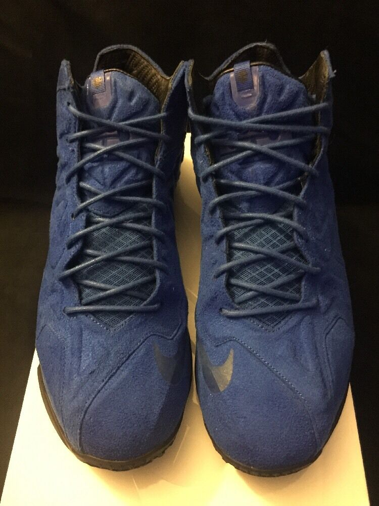Nike Lebron 11 EXT Suede Pre Owned Owned Owned 100% Authentic Size 11.5 8681de
