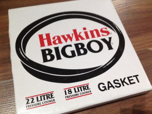 Hawkins Bigboy Pentola a pressione 18 LT 22 LITRI della Guarnizione Anello Autentico pezzo di ricambio