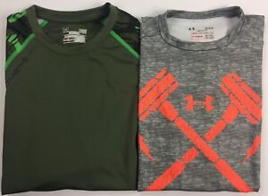 Men-039-s-Under-Armour-Heatgear-Combine-COMPRESSION-TIGHT-FIT-Polyester-Shirt