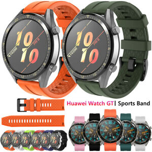 For Huawei Watch GT 2 Pro 2e 2 46mm Honor Magic Sports Silicone Band Wrist Strap