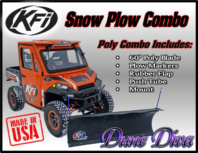 Open Trail KFI Snow Plow Mid Mount Kit ATV 105445 Can Am