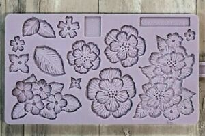 Karen-Davies-Brush-Embroidery-Sugarcraft-Mould-FAST-DESPATCH