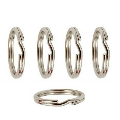 Number Eight 8 Nickel-Free 925 Sterling Silver Jump Ring 4 and 5mm