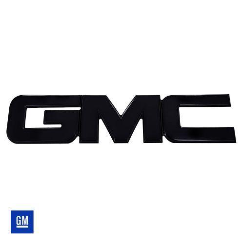 All Sales 96504K Rear Tailgate Emblem Black Powder Coat GMC Fits 14 Sierra 1500