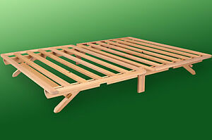 Bed Frame Solid Wood Fold A Bed Twin Full Queen Size