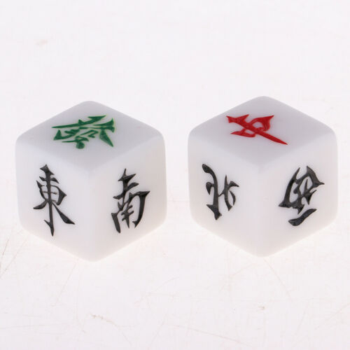 Mahjong Dice Sul North East West Direção do vento amassa Mahjong Game