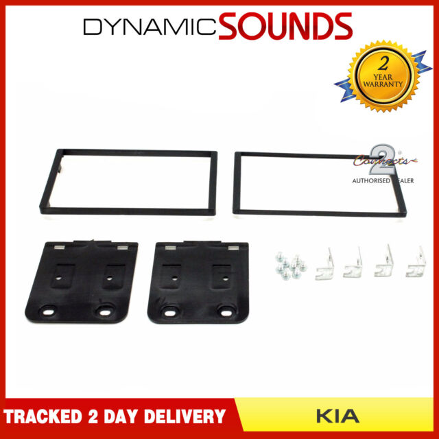Kia Sportage 2005-2008 Double Din Car Stereo Fascia Panel Connects2 CT23KI04A