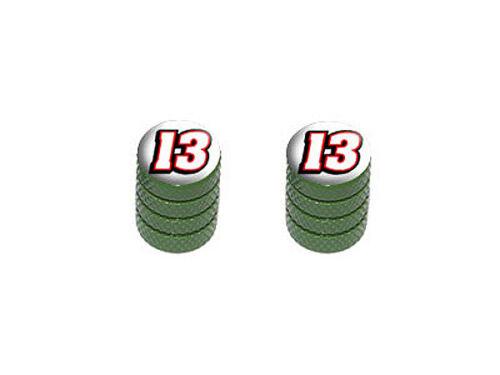 Colors Tire Valve Stem Caps Motorcycle Bike 13 Number Thirteen