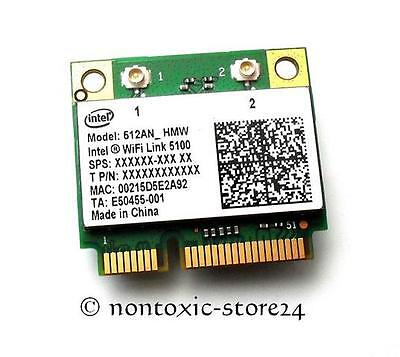 Intel 5100 512an Hmw Half Mini Pci-e Wlan Wireless Karte Card